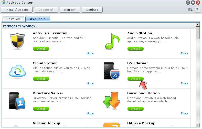 Gebruik je Synology DiskStation als DNS server in je netwerk - 11