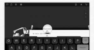 Hanx Writer iPad app
