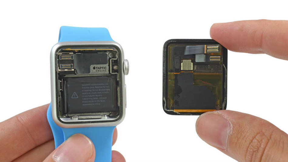 Apple Watch van binnen