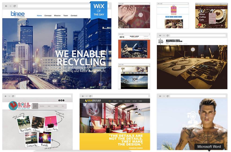 maken eigen website