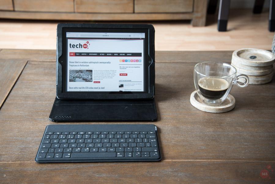 De Logitech Ultrathin Keyboard Cover aansluiten op de iPad Verbinding met de Logitech Focus-toetsenbordcase voor iPad mini Logitech toetsenbord werkt niet meer met iPad 2 na upgrading iOS