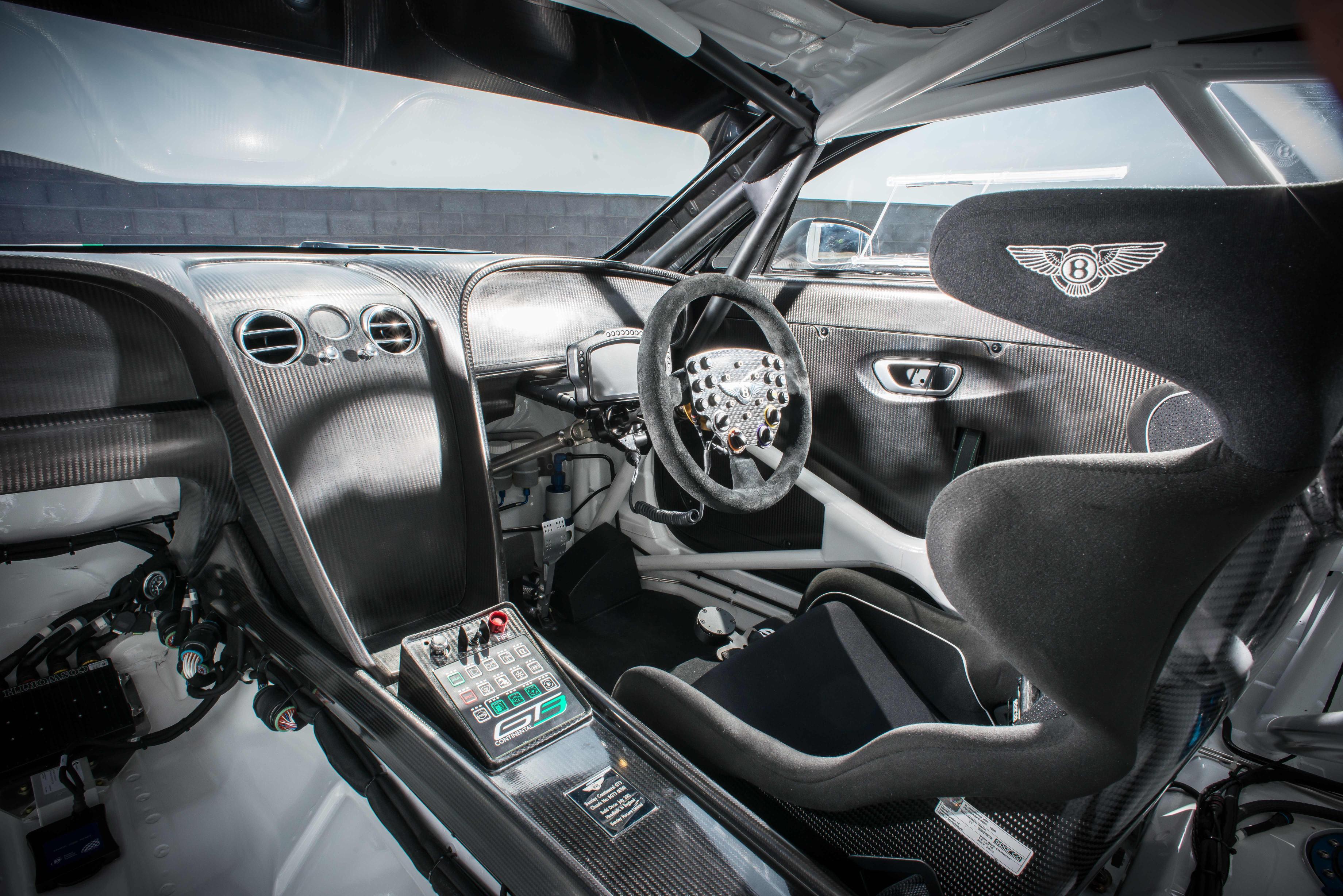 Bentley Continental GT3 interior