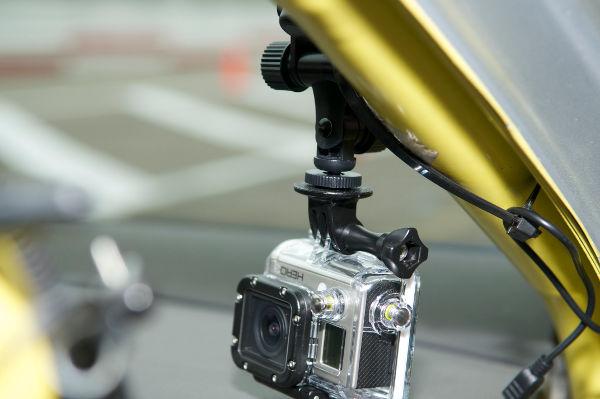 Hero3 met GoPro app voor bediening op afstand