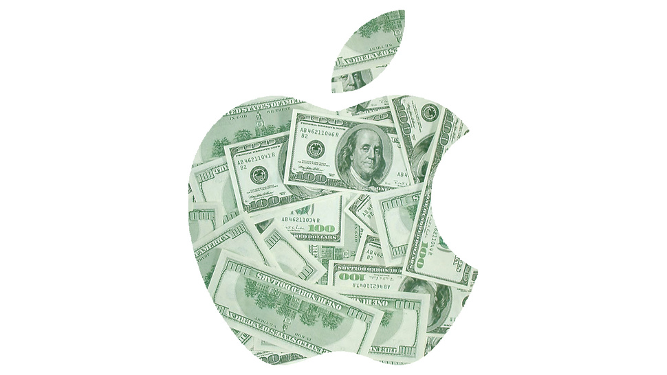 Apple logo cash