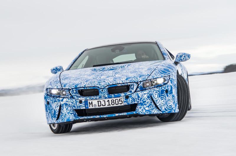 BMW i8 gebruikt Gorilla Glass