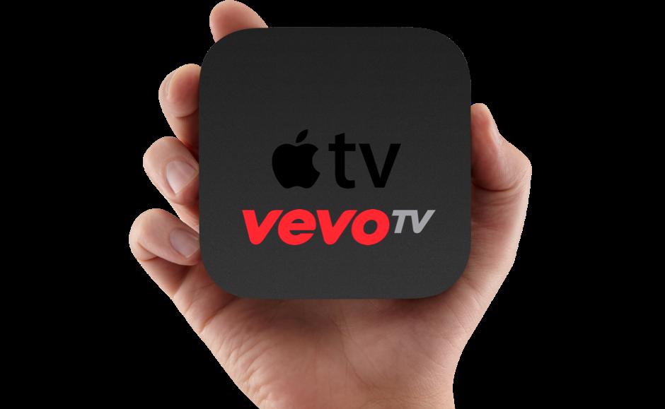 Muziek videodienst Vevo komt naar Apple TV en Samsung Smart TV