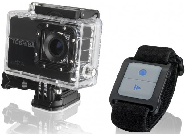 Toshiba Camileo X-Sports camera gaat strijd aan met GoPro - 01