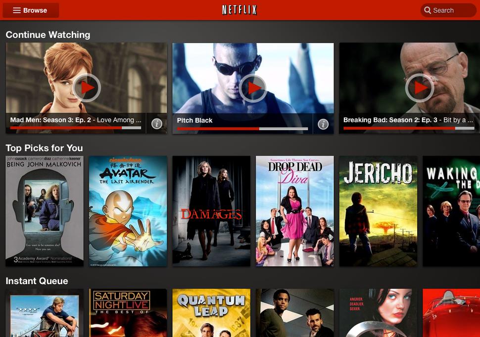 Netflix platform opent in Nederland