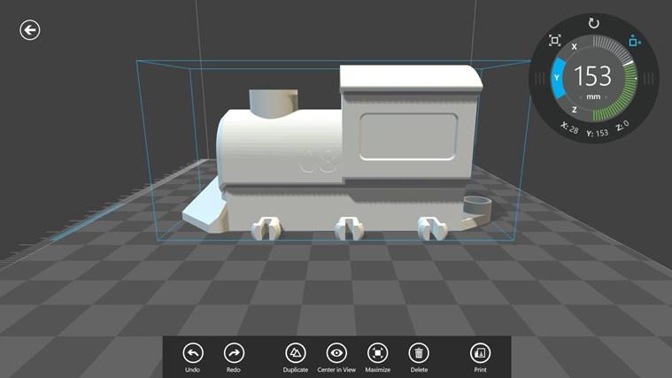 Microsoft 3d Builder App Maakt 3d Printen Van Objecten