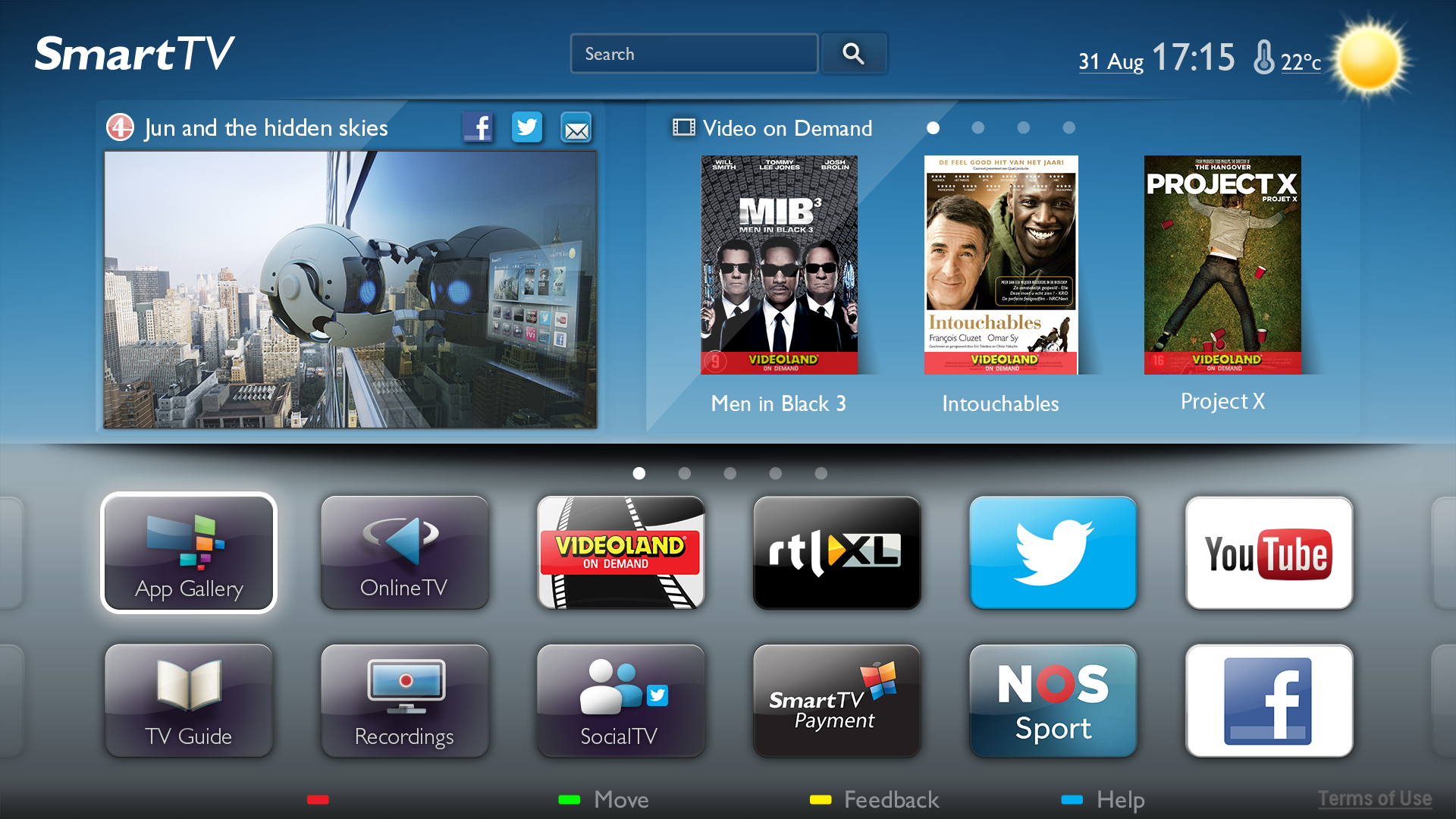 Philips tv's met Android