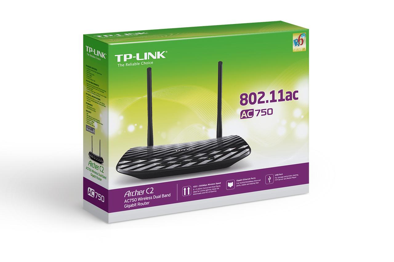 TP-LINK Archer C2 box