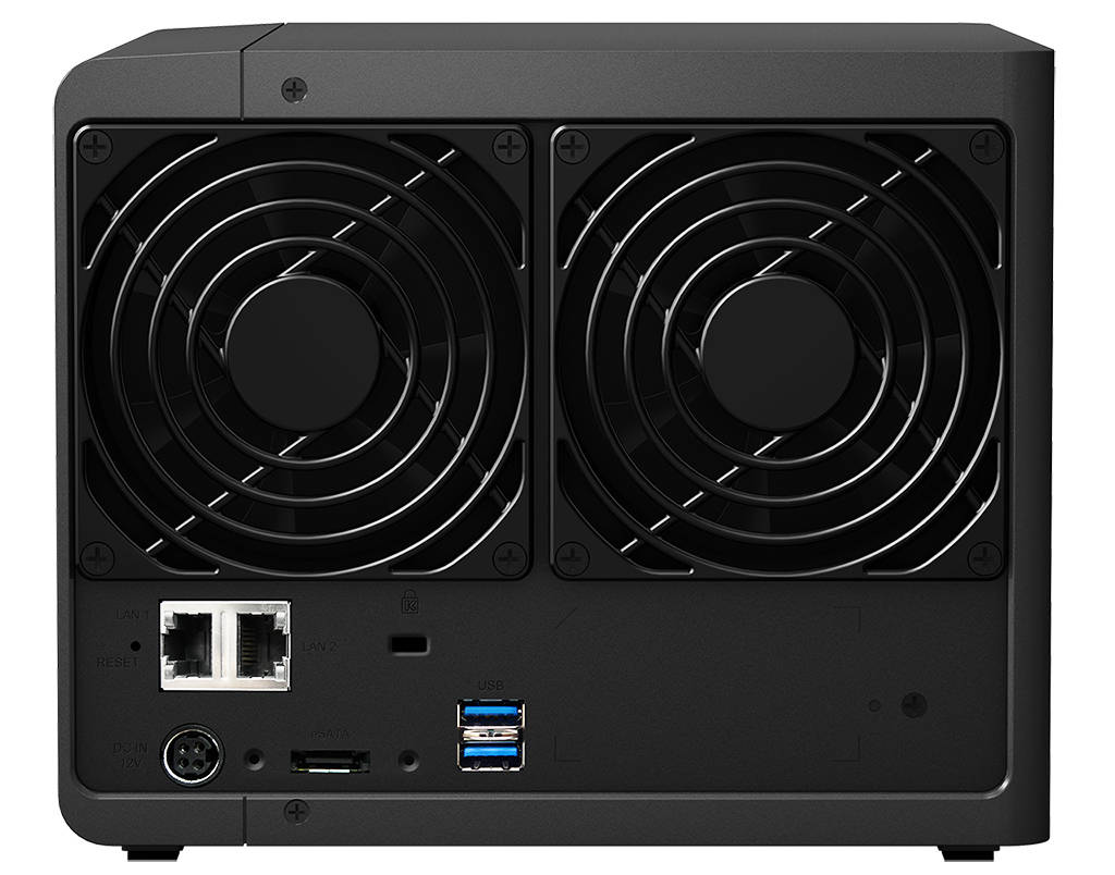 Synology DS415+ achterkant