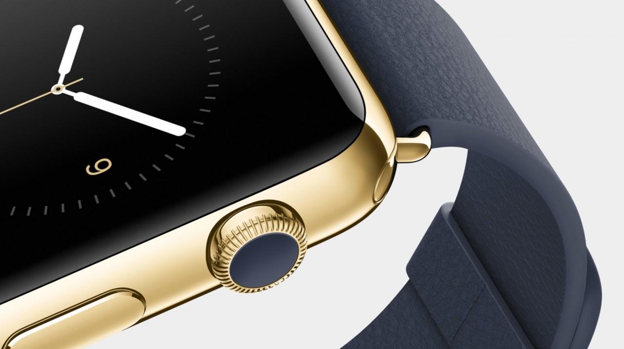 Gouden Apple Watch