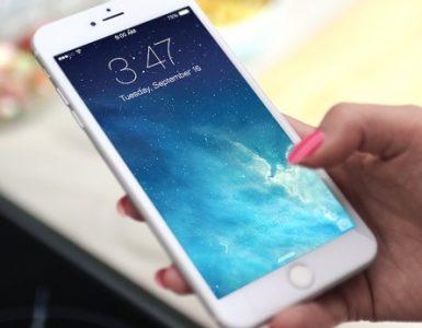 Iphone S Hangt Im Wartungszustand