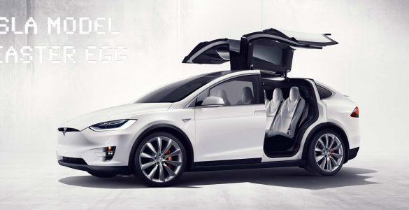 Tesla Model X Easter Egg