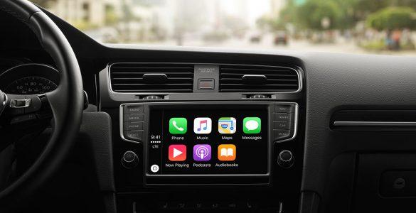 Apple Carplay scherm