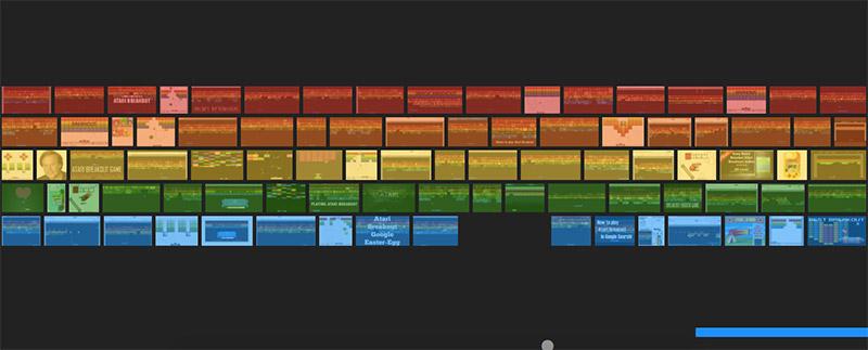 Google Easter Eggs - Atari breakout