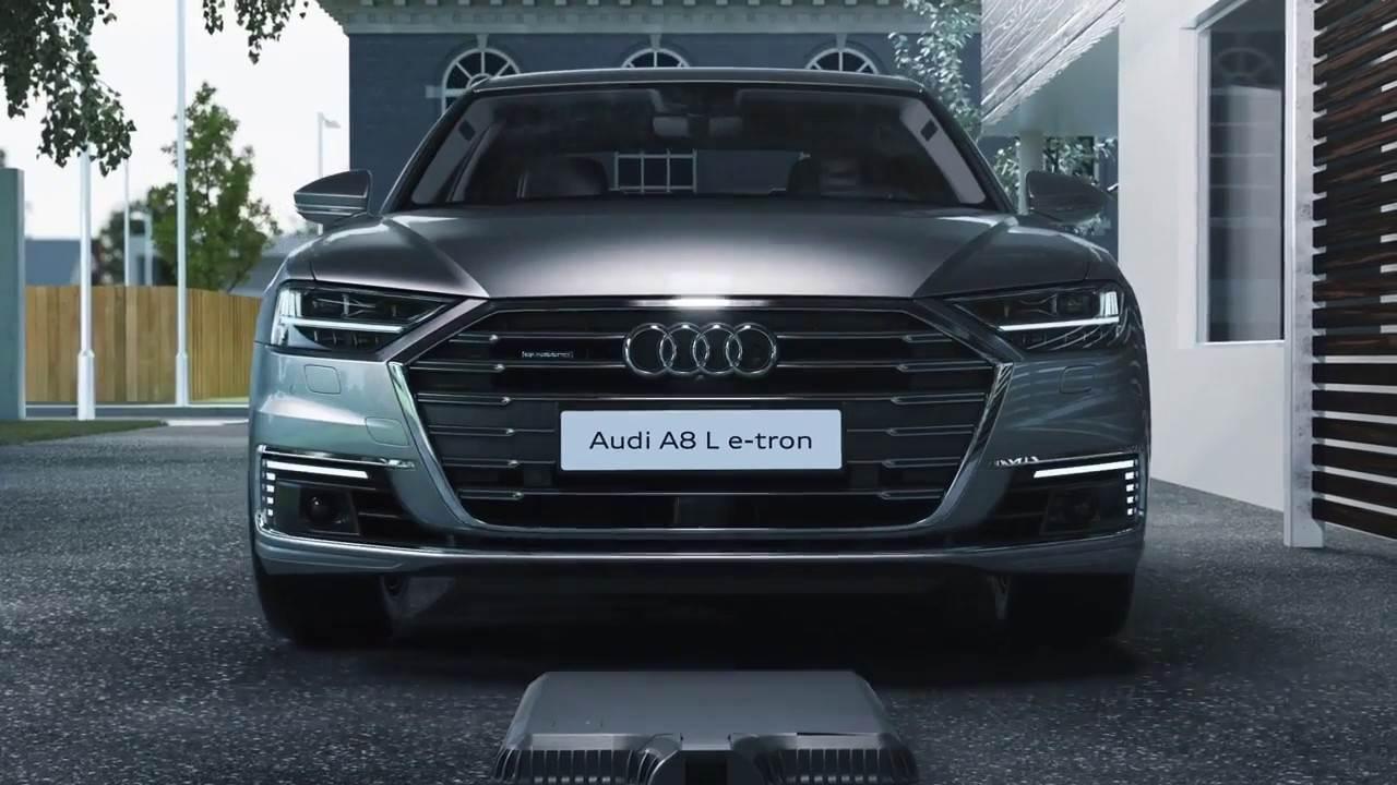 Audi A8 draadloos opladen