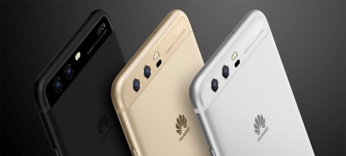 Huawei P10 drie kleuren
