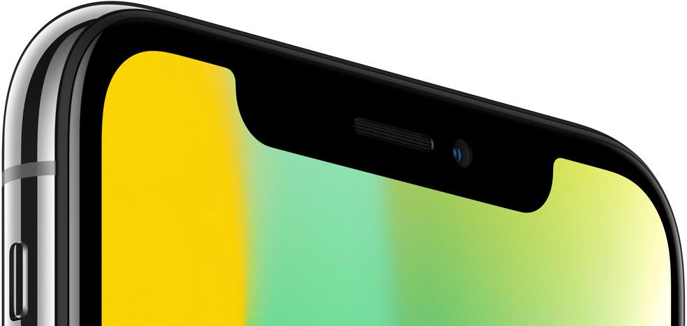 iPhone X full corner