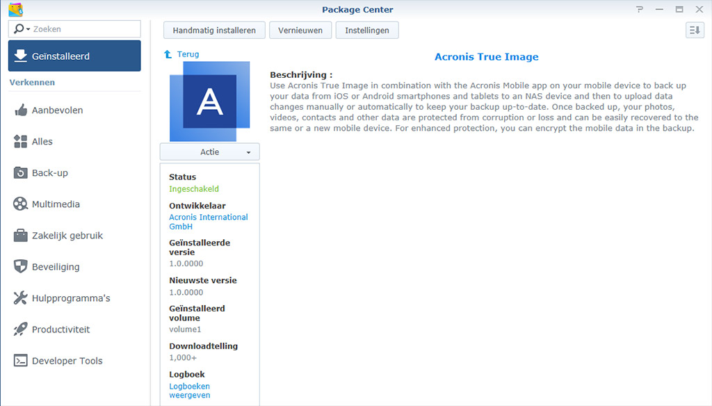 Acronis Synology 02