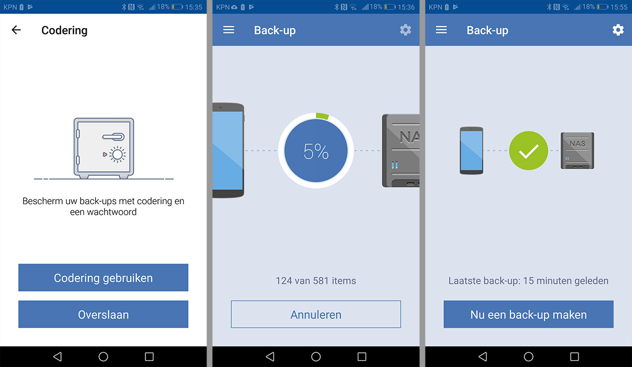 Acronis mobile Synology 03