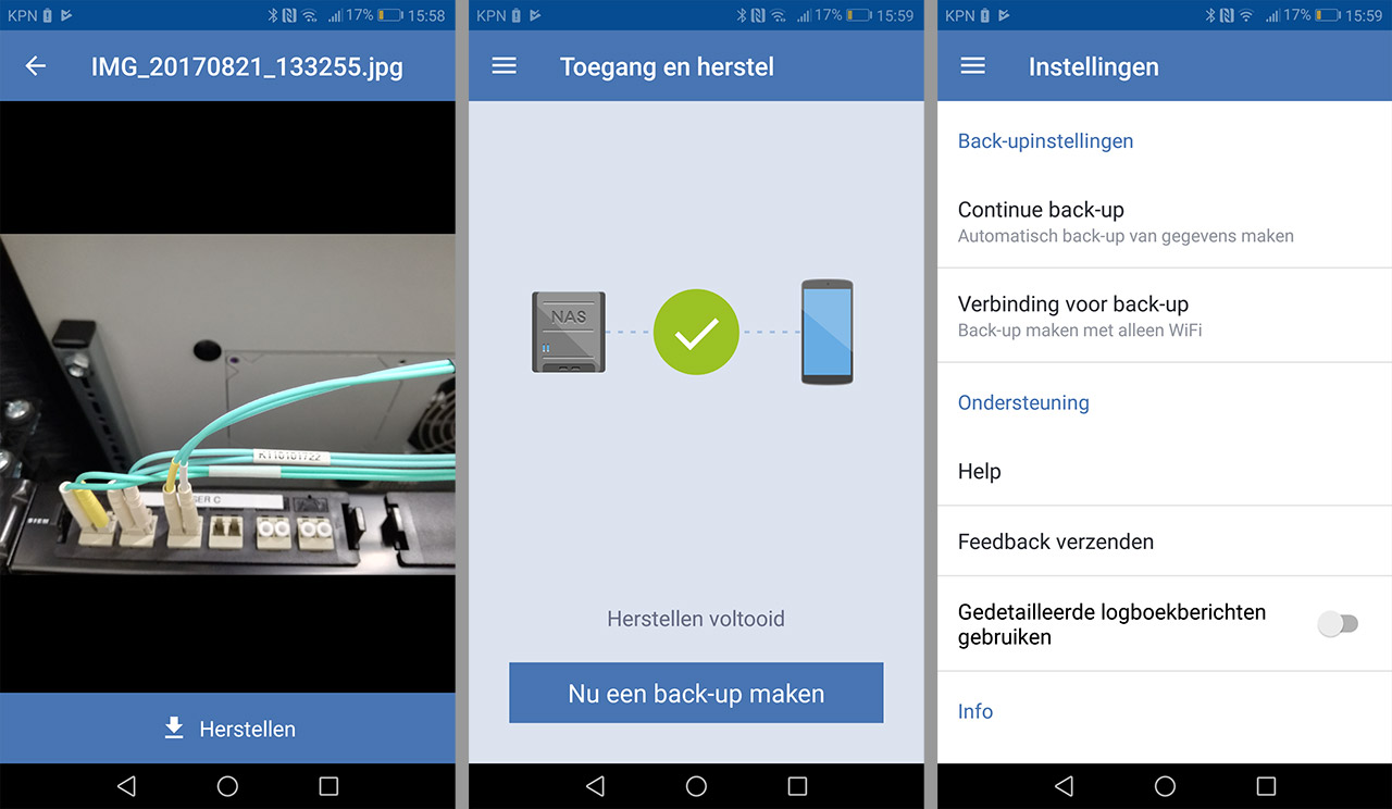 Acronis mobile Synology 05