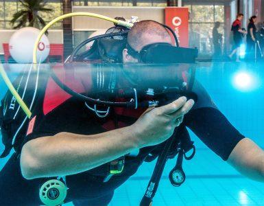 onderwater duiker
