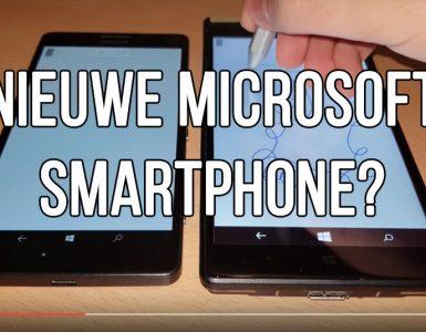 Microsoft smartphone