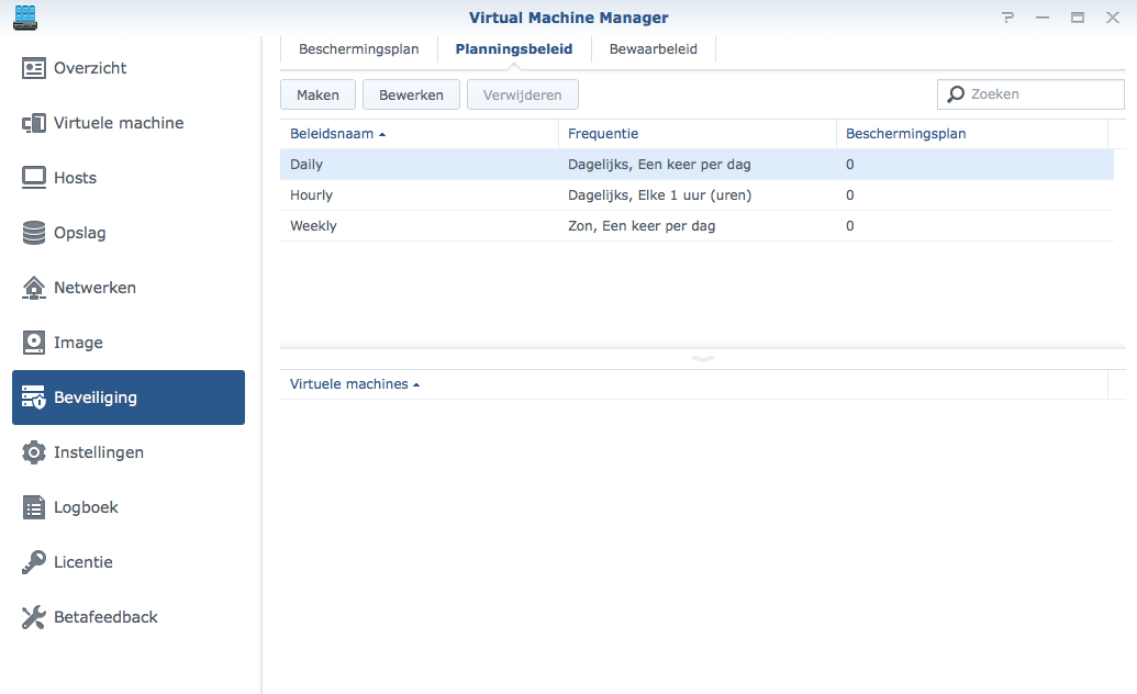 Synology Virtual Machine Manager installatie 28