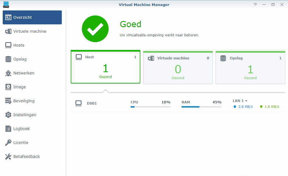 Synology Virtual Machine Manager installatie 06