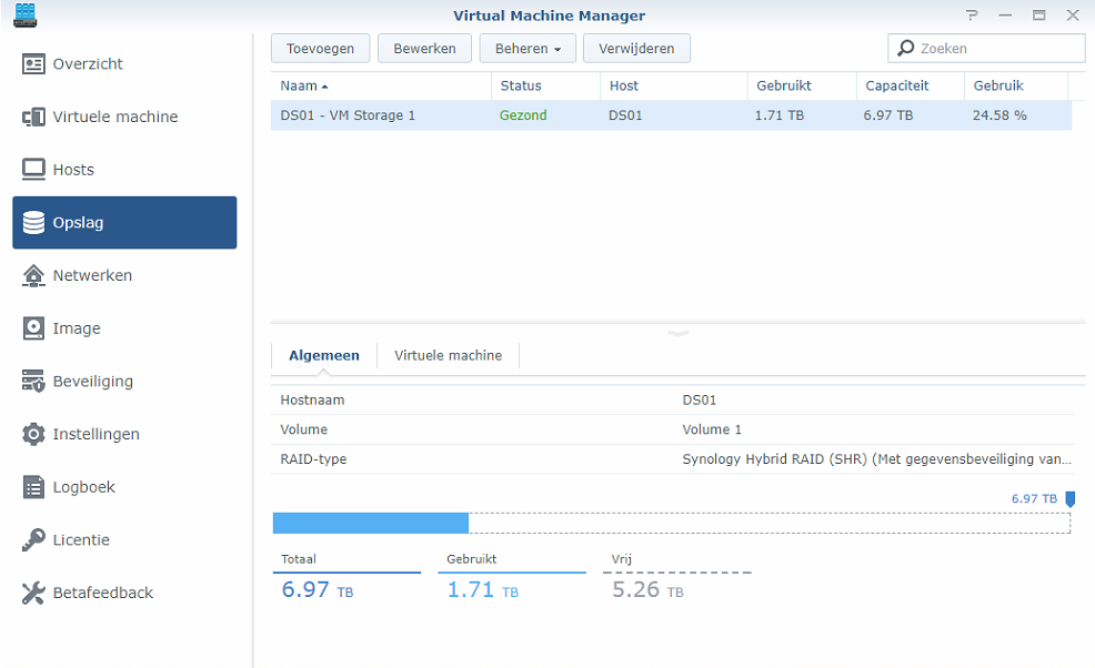 Synology Virtual Machine Manager installatie 08