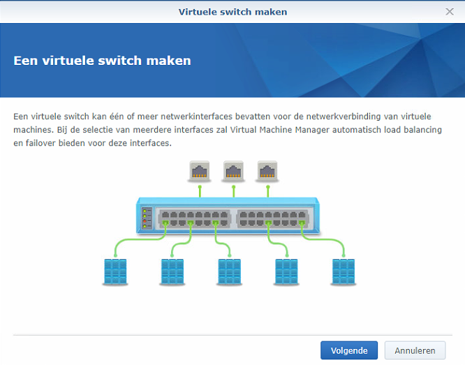 Synology Virtual Machine Manager installatie 09