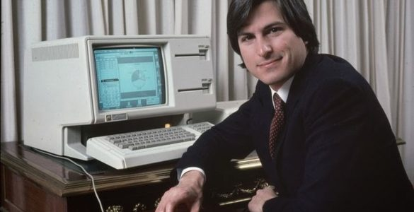 Apple Lisa Steve Jobs