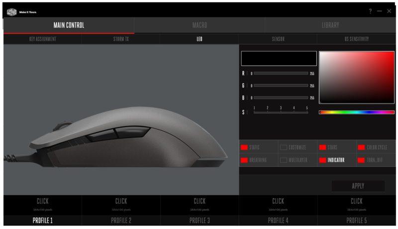 Cooler Master Mouse Pro L 02