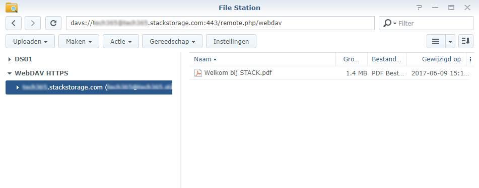 Koppel je TransIP Stack aan je Synology 03