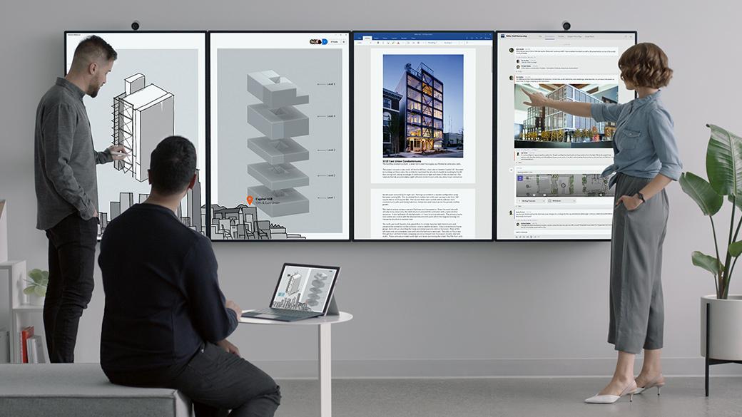 Microsoft Surface Hub 2 4-schermen