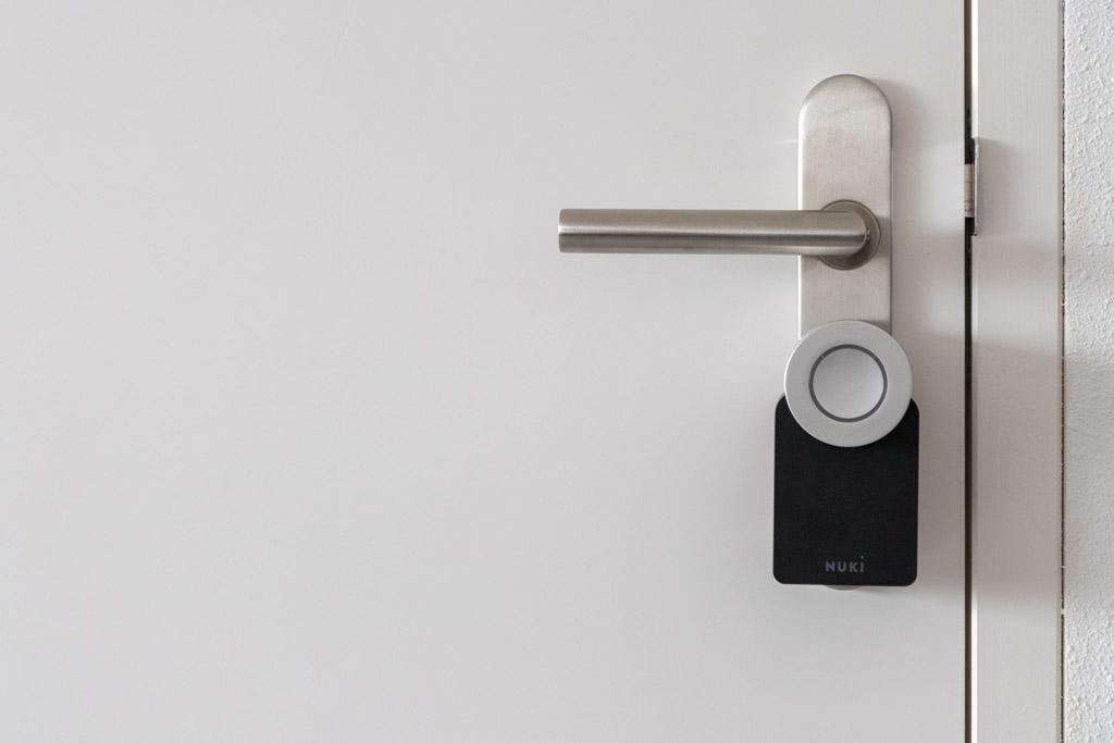 Nuki Smart Lock gemonteerd tech365 001