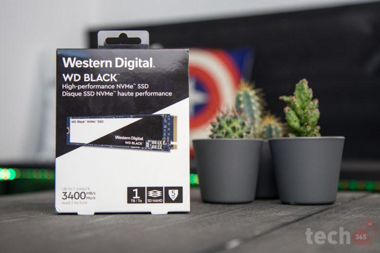 WD Black NVMe 1TB etch365nl 001