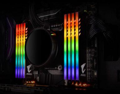 Aorus DDR4 memory