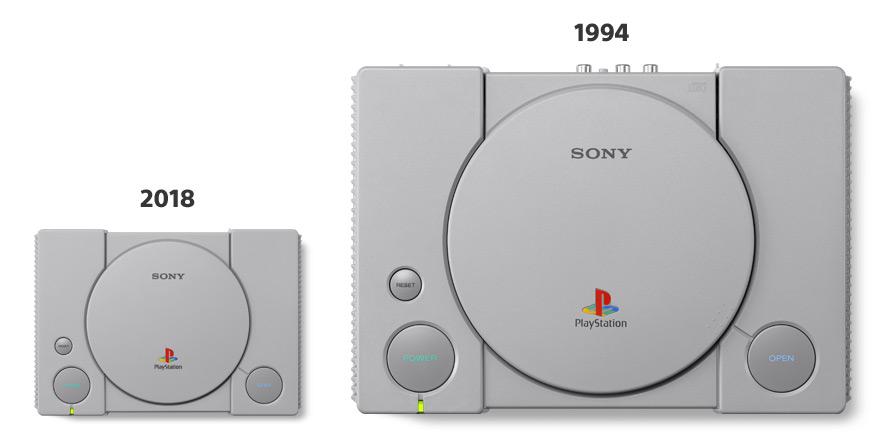 PlayStation Classic oud en nieuw