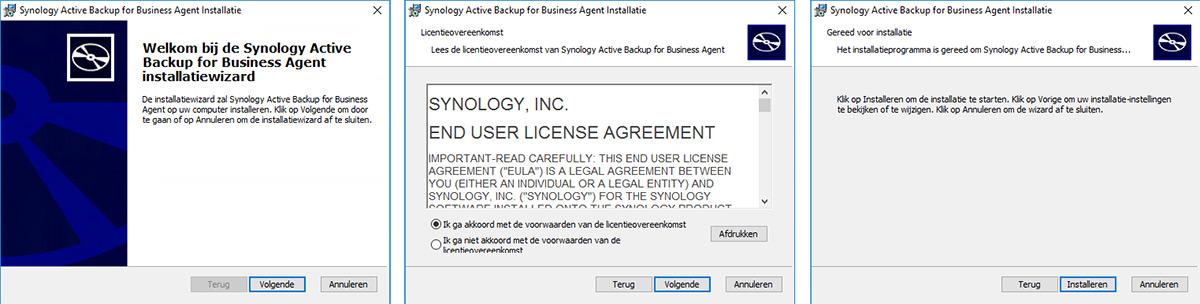 ActiveBackup Agent install 01v
