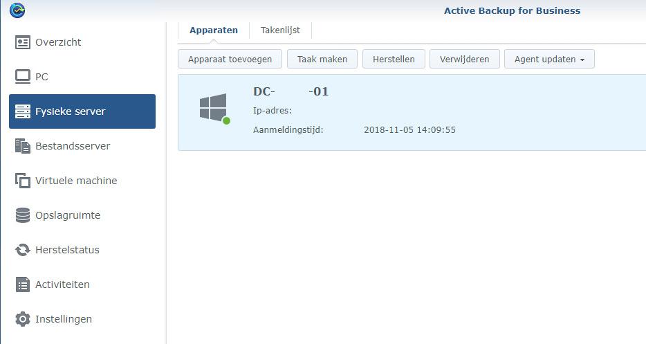 ActiveBackup Agent install 04
