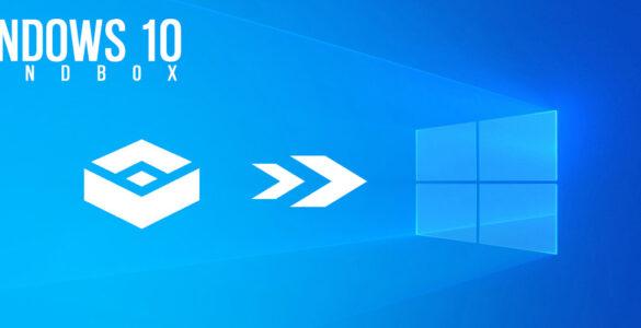 Windows 10 Sandbox header