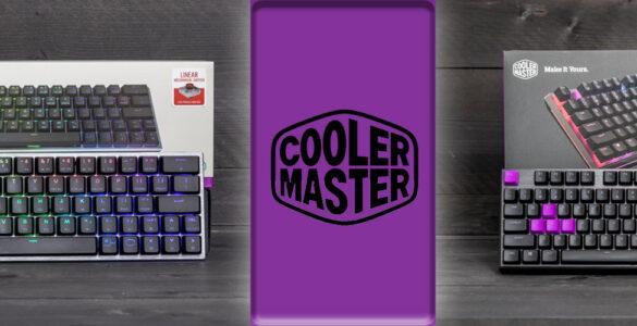 Cooler Master MK730 SK622 review header