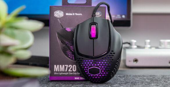 Cooler Master MM720 header afbeelding