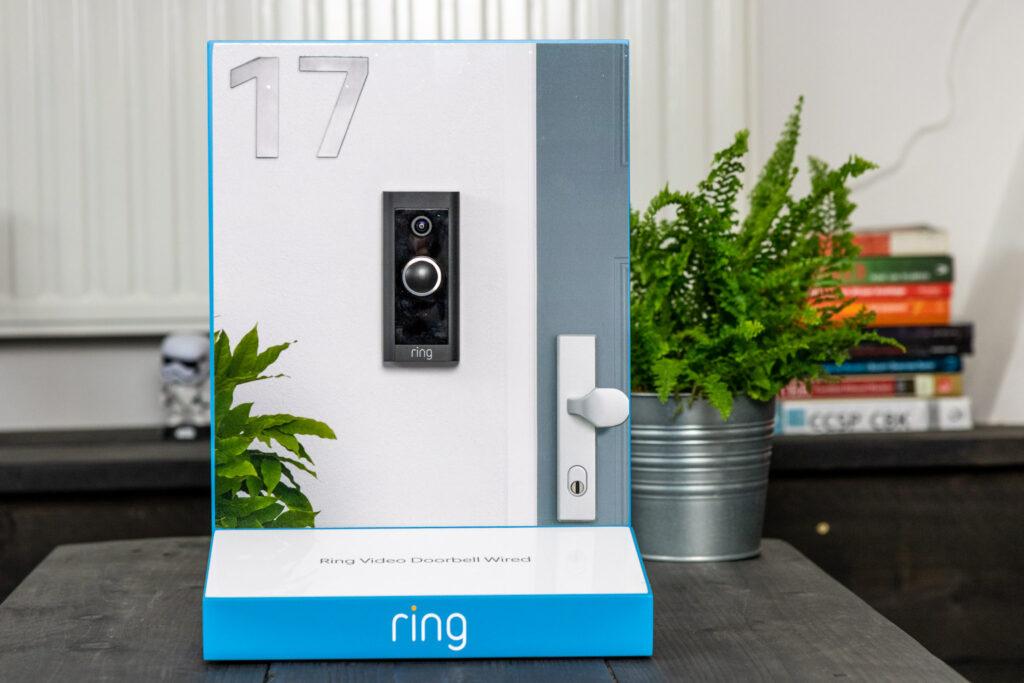 Ring Video Doorbell Wired demo deur