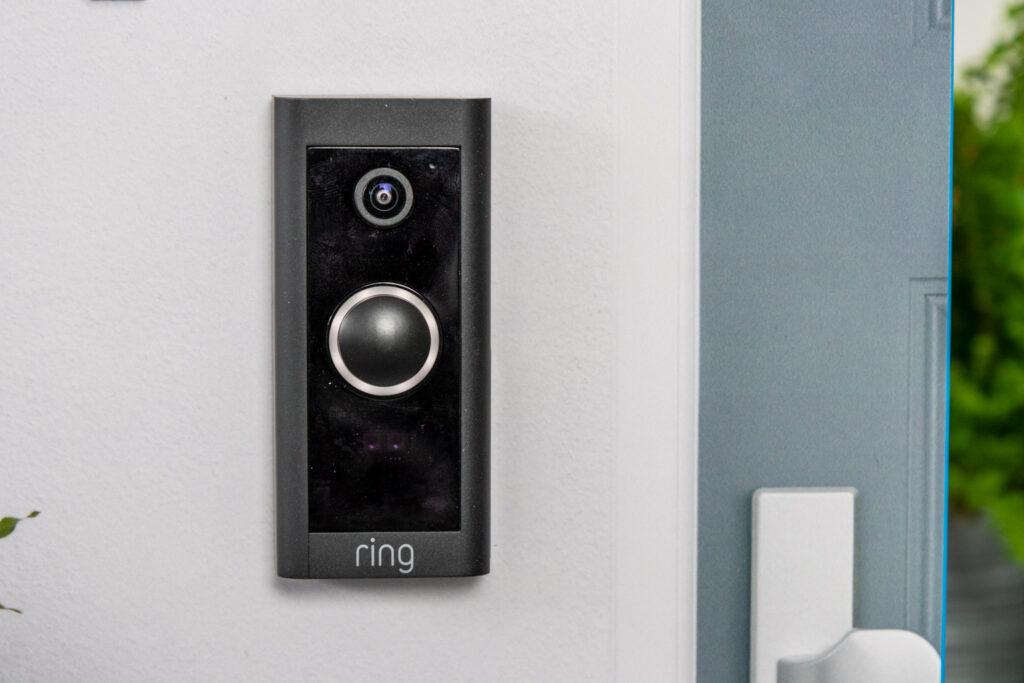 Ring Video Doorbell Wired gemonteerd