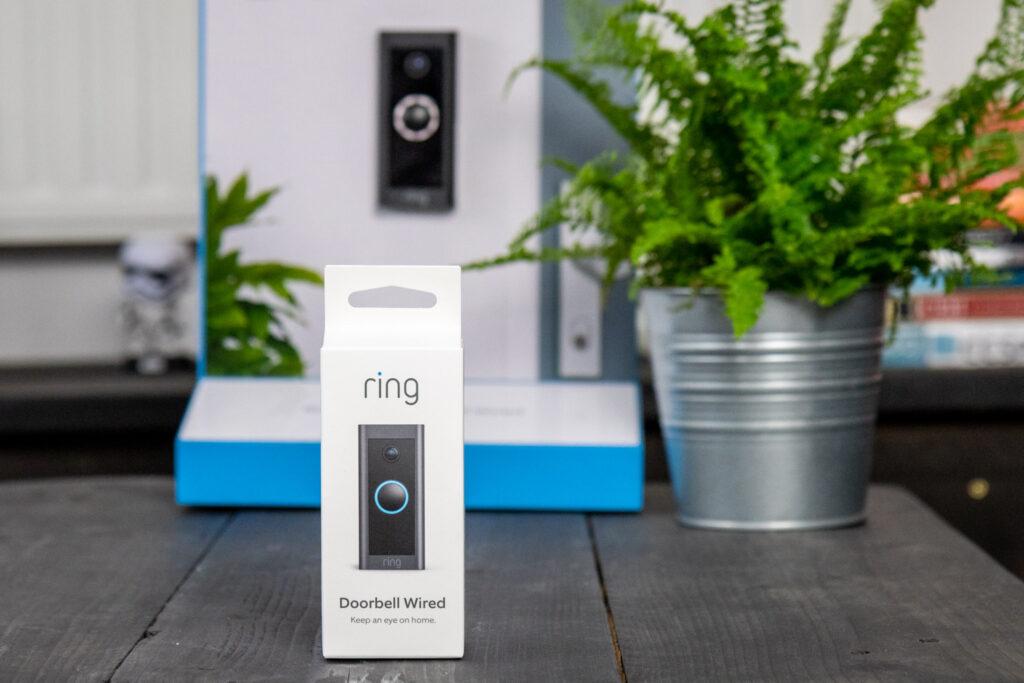 Ring Video Doorbell Wired verpakking