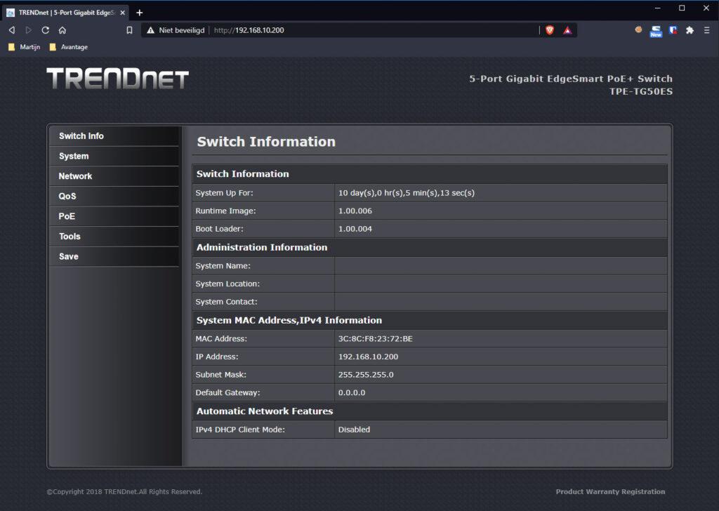 TRENDnet Switch 02